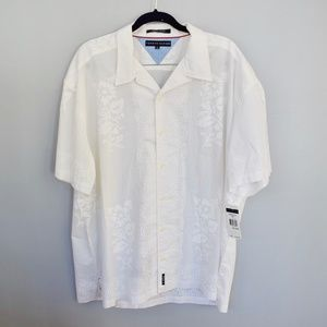 Tommy Hilfiger Hawaiian Men's Button Down Shirt